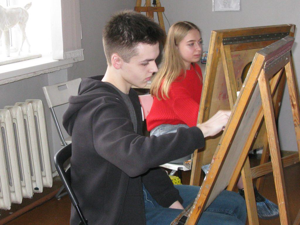 В Детской школе искусств им. Н.Н. Дубовского проходит олимпиада школьников «Архитектура и искусство»