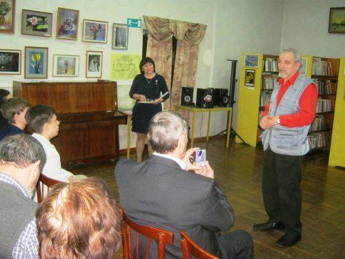 Поэтический вечер состоялся в детской библиотеке микрорайона Октябрьский