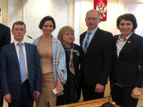 Депутат из Новочеркасска подняла вопрос ликвидации очередей в детсадах на заседании в Москве