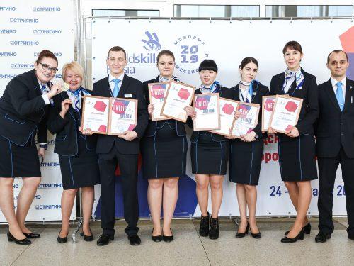 Команда аэропорта Платов заняла первое место на региональном этапе WorldSkills Russia