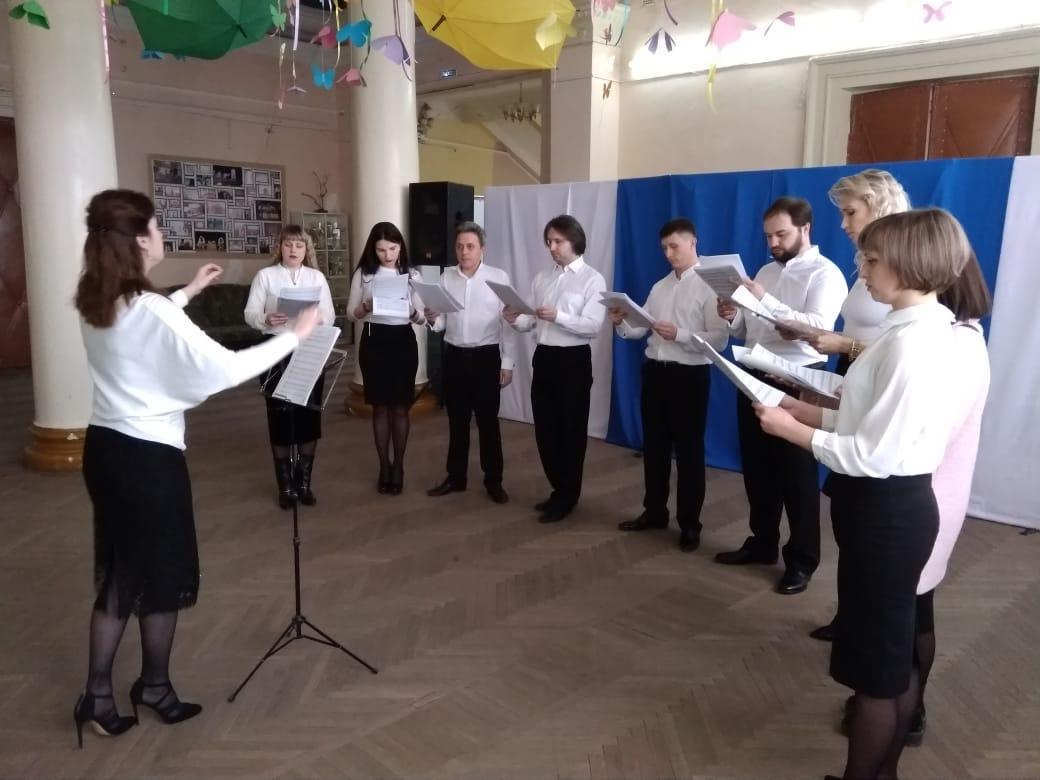 Концерт духовной музыки состоялся в микрорайоне Октябрьском