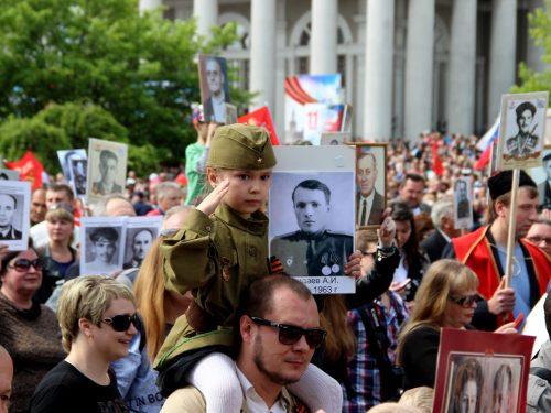 Ежедневно на Дону распечатываются выше сотни портретов-участников Бессмертного полка
