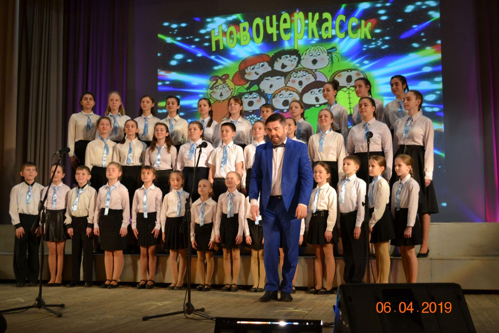 Битва новочеркасских хоров развернулась 6 апреля в микрорайоне Донской