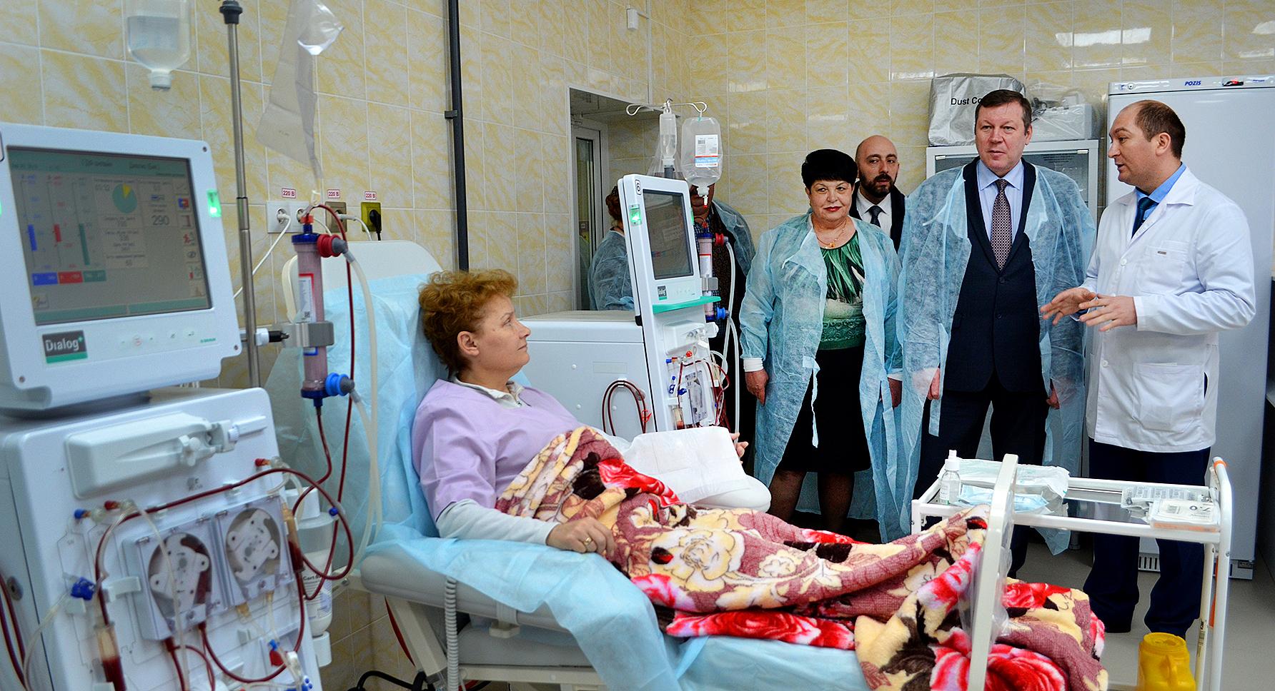 В Новочеркасске открылся первый центр гемодиализа