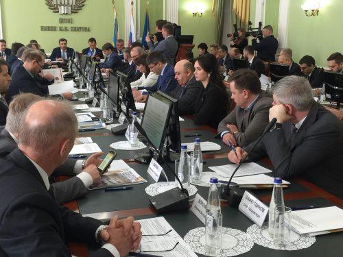 В Новочеркасске состоялось выездное заседание Государственной думы