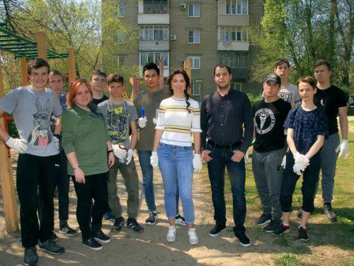 В Новочеркасске прошла очередная акция чистоты
