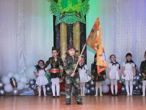 Дошколята проявили высочайший уровень патриотизма и театрализации