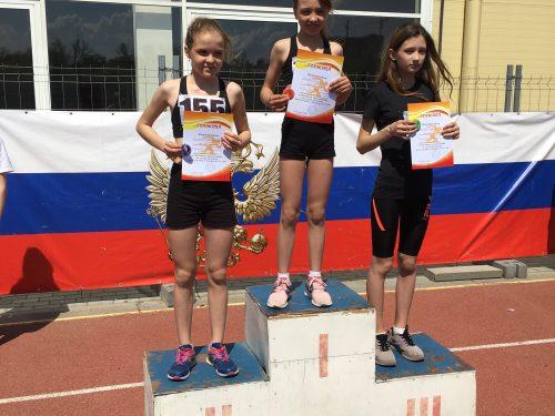 Легкоатлетки из Новочеркасска стали абсолютными победителями на областных- соревнованиях
