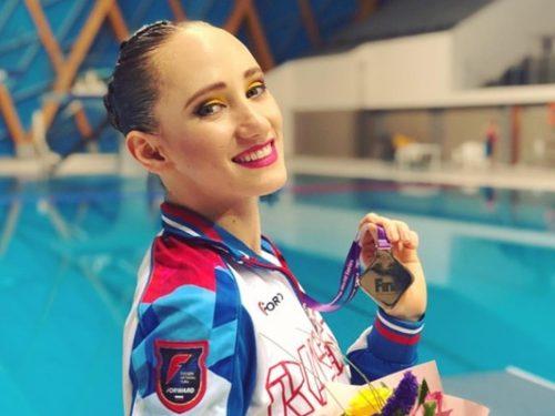 Новочеркасская синхронистка взяла золото соревнованиях мировой серии FINA