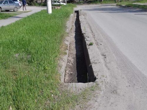 К середине мая в Новочеркасске почистят основную часть ливневок