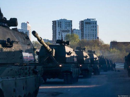 В Новочеркасске в связи с репетицией парада ограничат движение