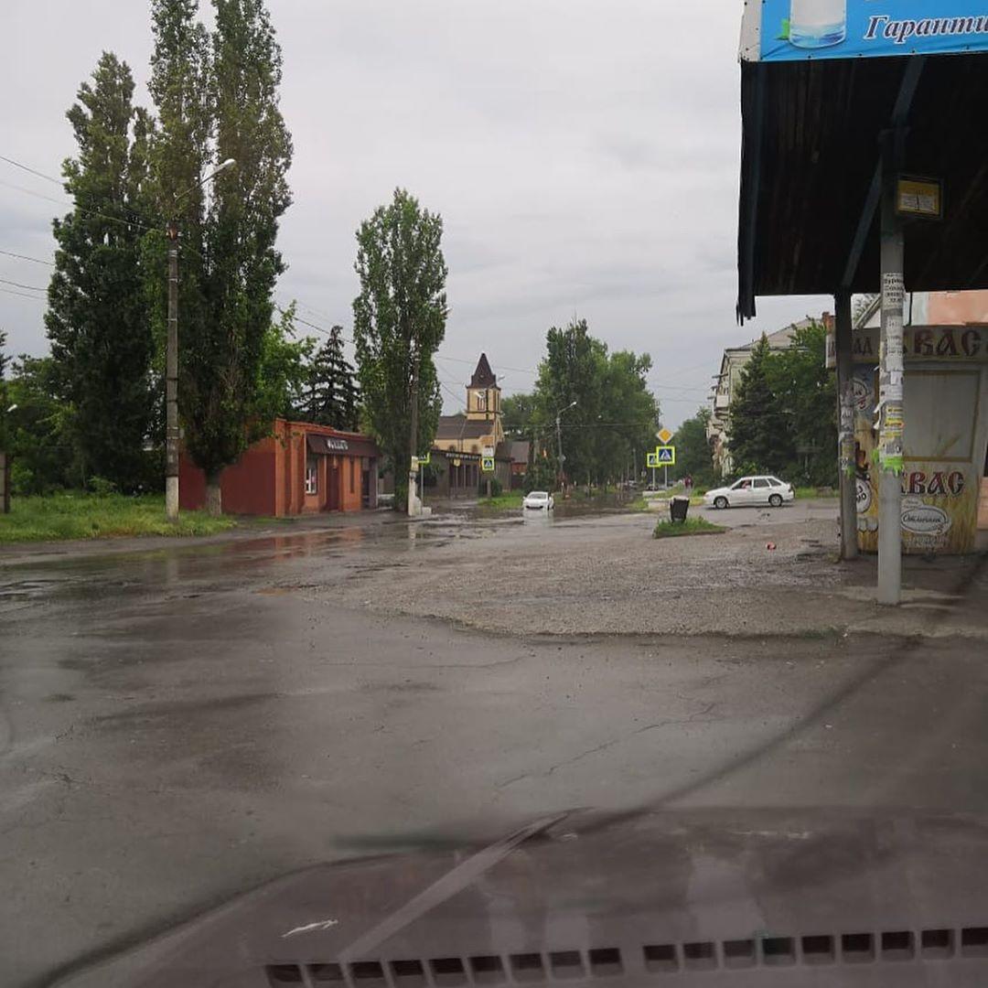 Почему даже после ремонта ливневой канализации Донской вновь оказался в воде?