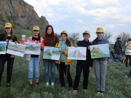 С дипломами победителей вернулись из Крыма участники VI Международного  Арт-Кампуса