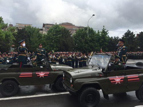 В Новочеркасске начался Парад Великой Победы