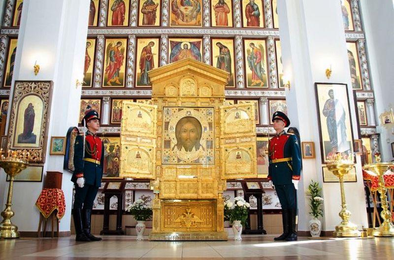В Новочеркасск доставят главную святыню храма ВС РФ