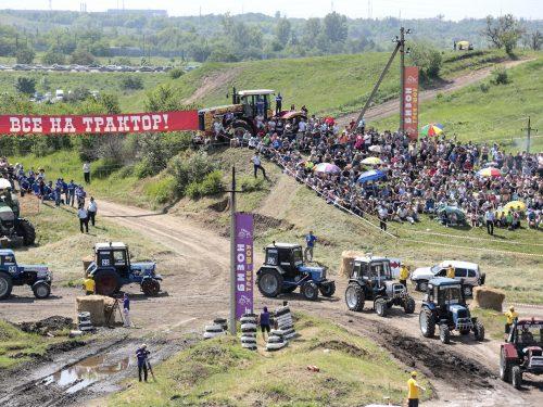 На Дону вновь состоятся уникальные тракторные гонки, аналогов которым нет в России