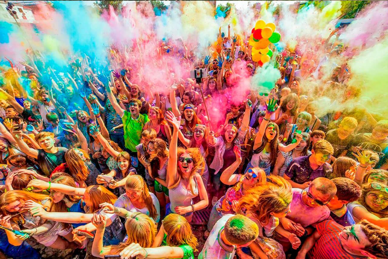 В Новочеркасске пройдет Всероссийский фестиваль красок