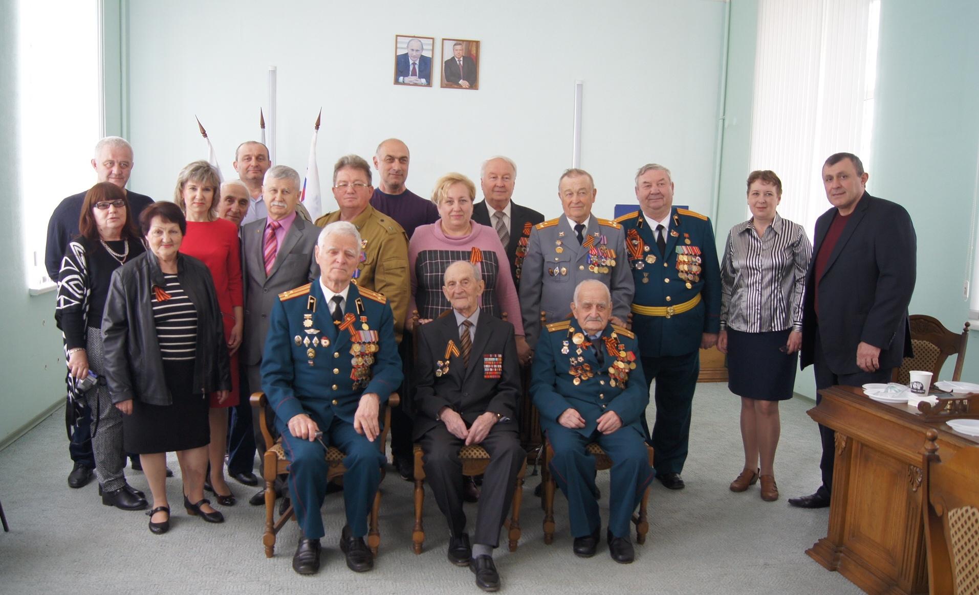 Грузинская национально-культурная автономия «Вардзия» поздравила ветеранов с праздником Победы