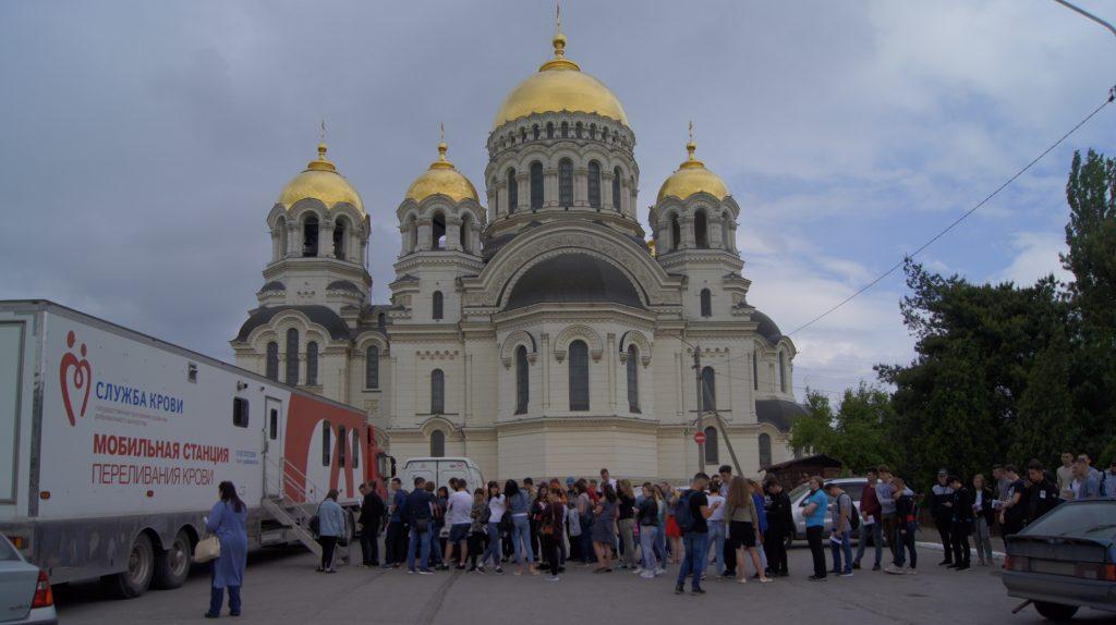 В Новочеркасске проходит акция по сдаче донорской крови