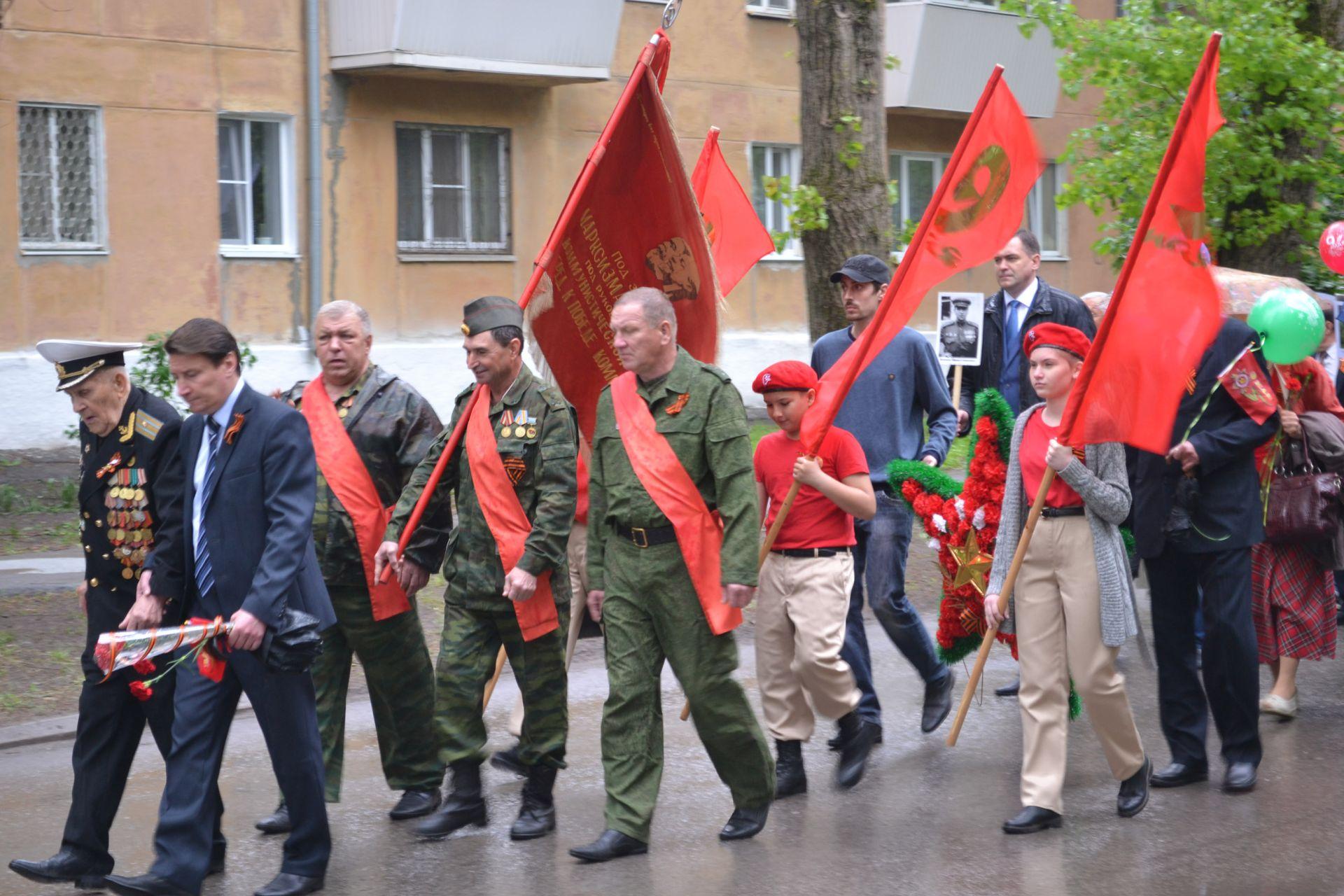 По микрорайону Донской прошло шествие «Бессмертного полка»
