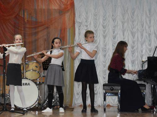 Концерт духовых инструментов прошёл в музыкальной школе