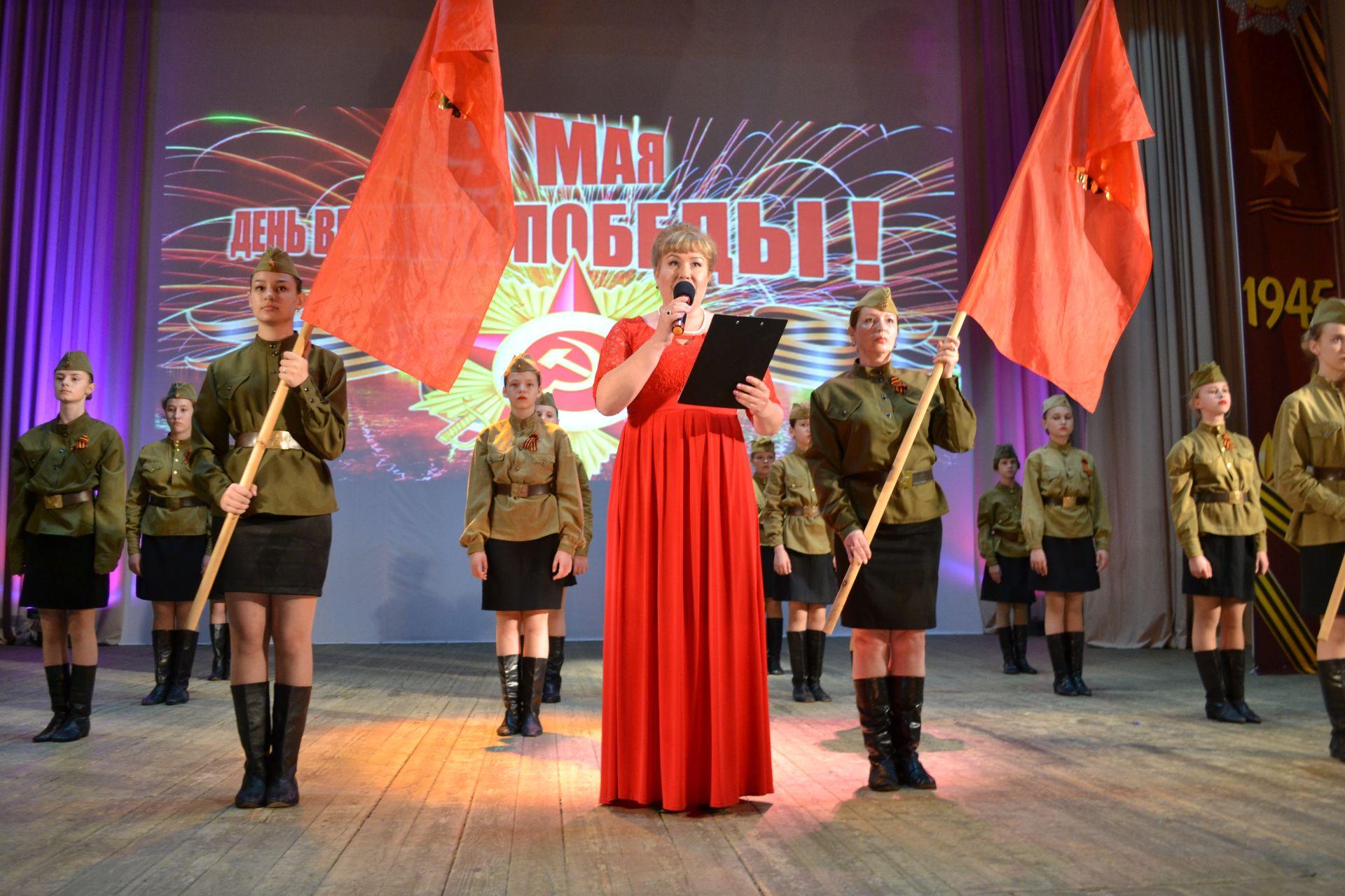 Концерт, посвящённый Дню Победы, прошёл на Донском