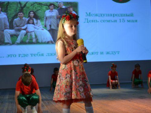 Фестиваль, приуроченный к Международному дню семьи, прошёл на Донском