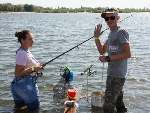 Профессионалы и любители сразились за победу в «Народной рыбалке»