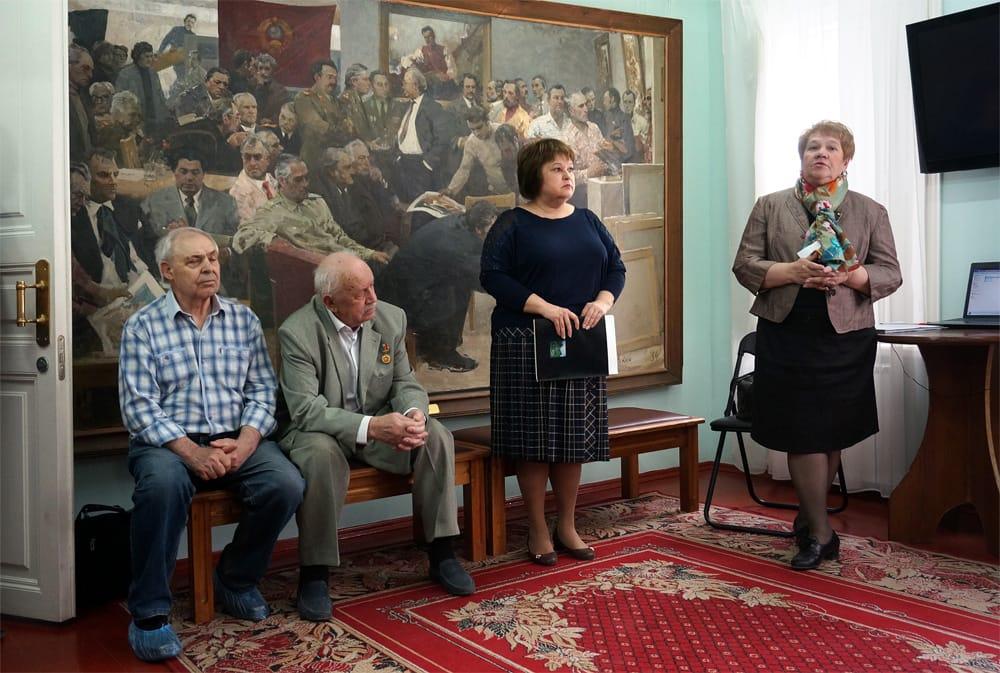 В Доме-музее М.Б. Грекова открыта выставка в 90-летию со Дня рождения Николая Овечкина