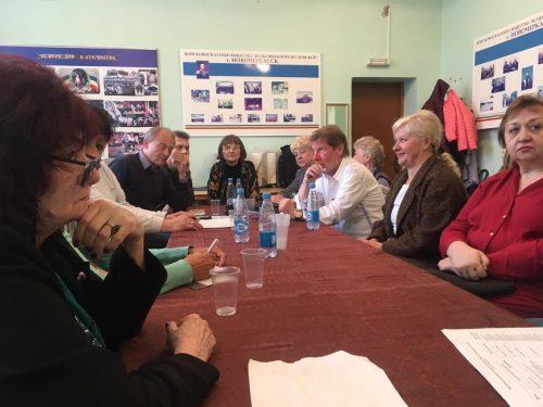 В праздничные дни в Новочеркасске побывала делегация из немецкого города-побратима Изерлона