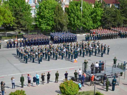 В Новочеркасске завершился цикл репетиций военного Парада
