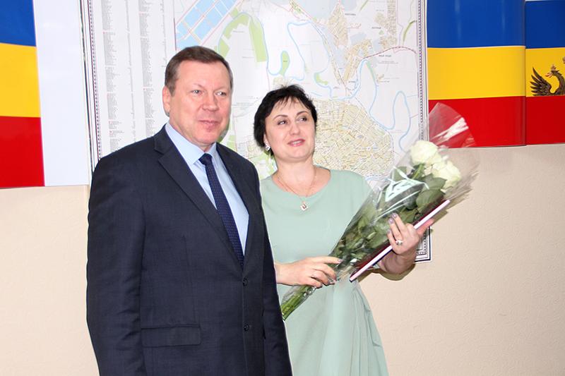 Благодарность от Губернатора Ростовской области