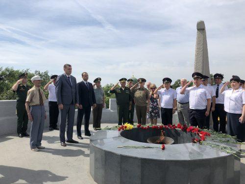 В Новочеркасске прошли мероприятия посвящённые Дню Памяти и Скорби