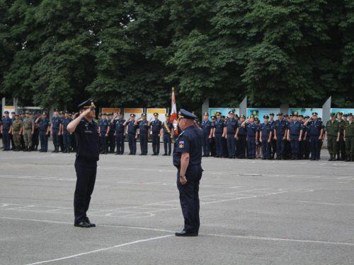 Начало летнего периода обучения учебного года у военнослужащих Новочеркасского соединения противовоздушной обороны.