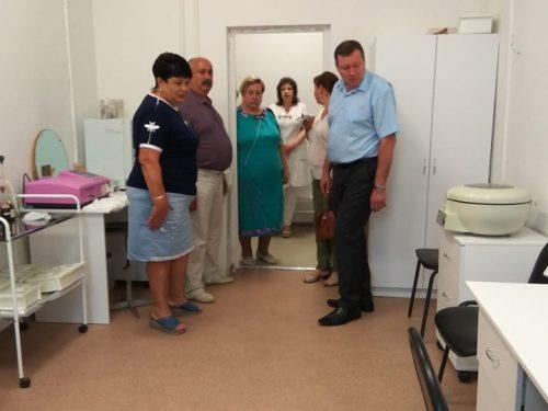 Первая городская поликлиника по ул. Александровской начала принимать пациентов