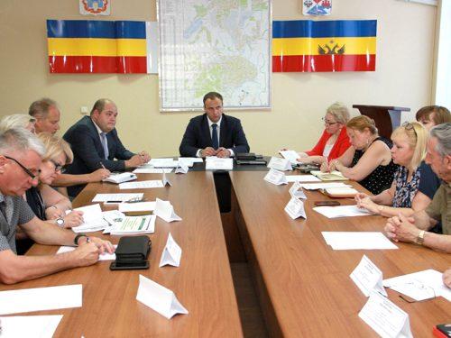 20 июня в Новочеркасске прошло заседание Координационного совета по делам инвалидов при администрации города.