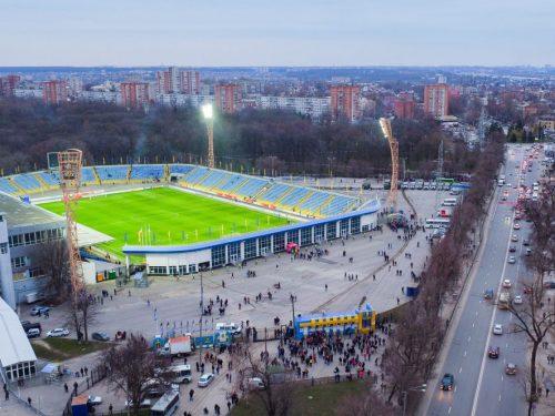 Особое внимание к стадионам и спортивным комплексам