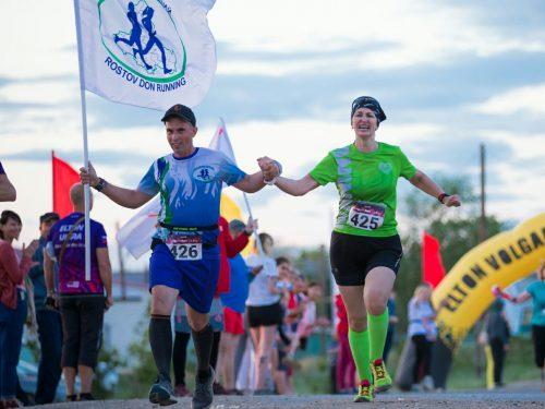 Новочеркасские спортсмены приняли участие в ультрамарафоне