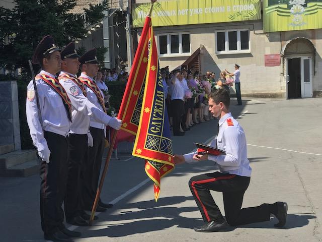 27-й выпуск новочеркасских суворовцев