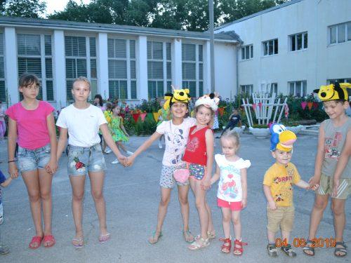 Цикл развлекательных программ для детей в июне провели сотрудники Дворца культуры микрорайона Донской