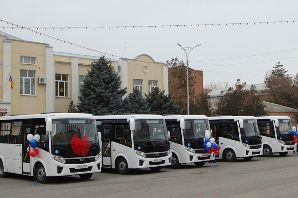 Десять новых автобусов закупят для Сальского района