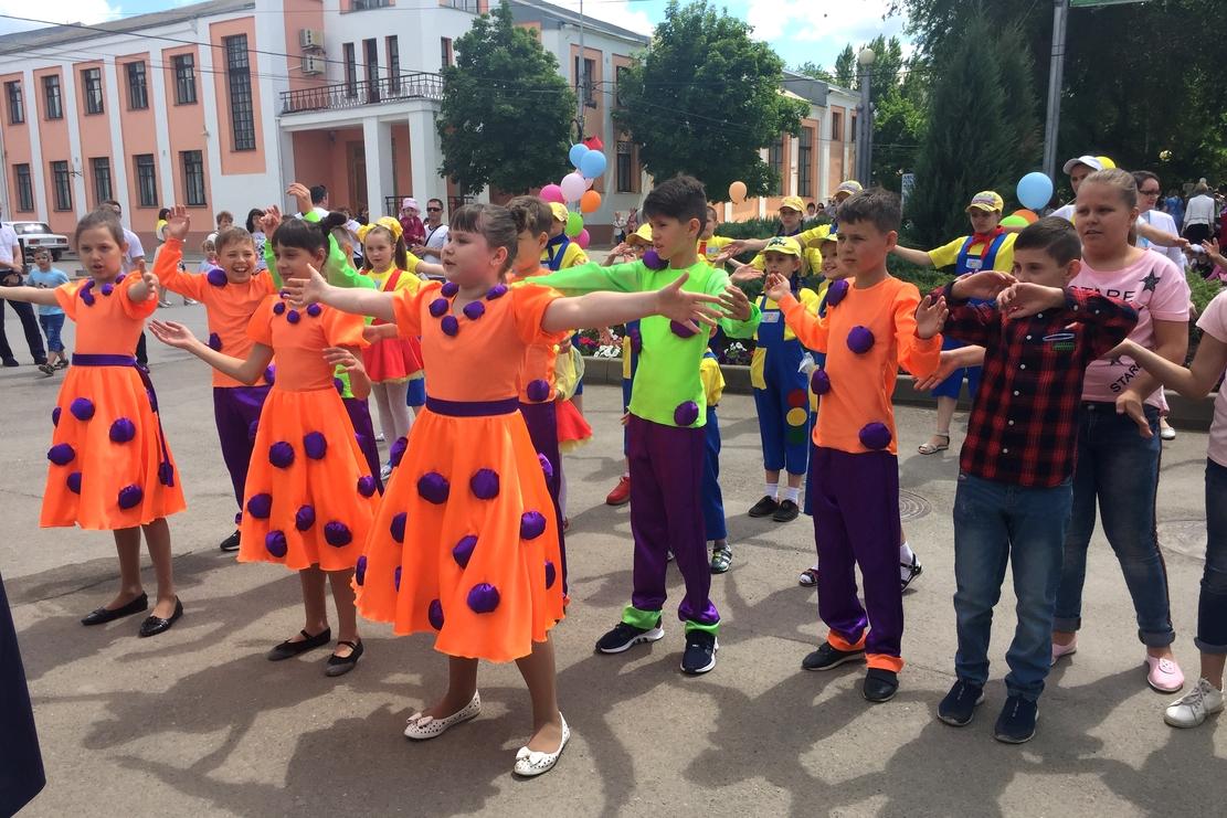 Детский фестиваль прошел в Ростове-на-Дону