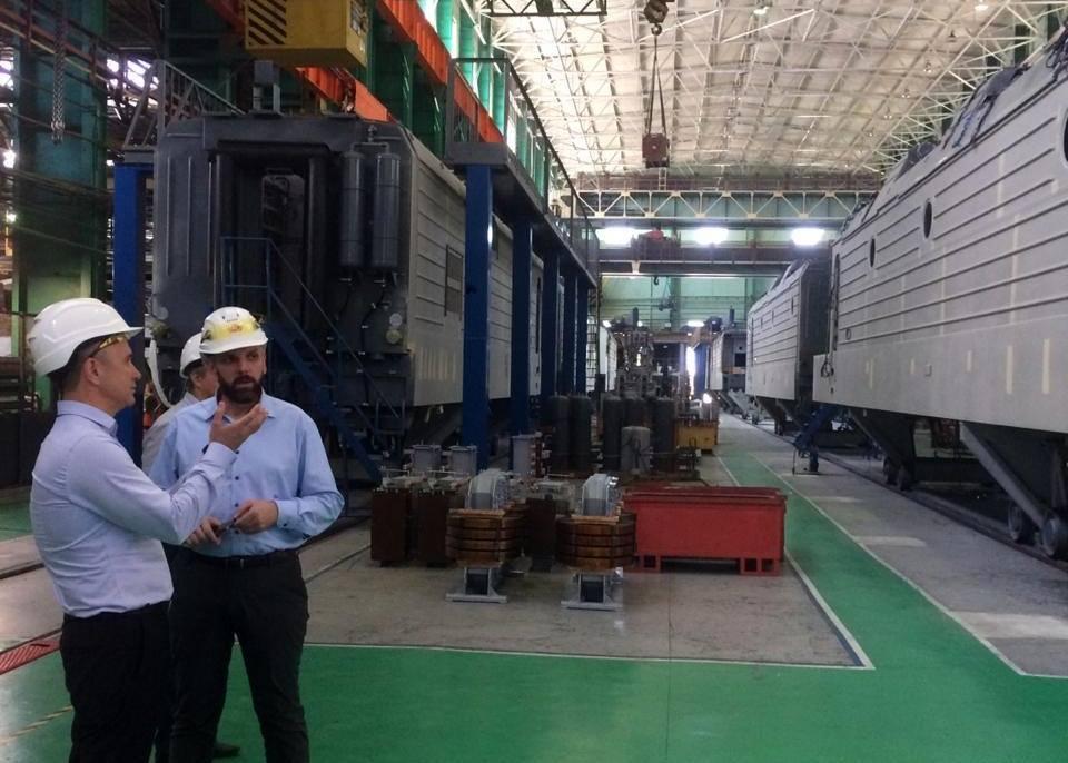 Электровоз из Новочеркасска успешно прошел опытный пробег