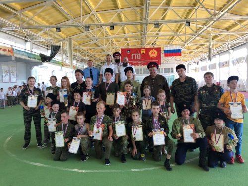 В Шахтах прошла казачья спартакиада среди детей и подростков