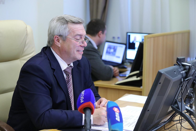 Василий Голубев провёл интерактивный приём граждан