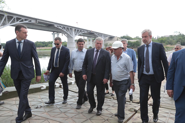 Временный мост через Северский Донец в Каменском районе заработает в августе