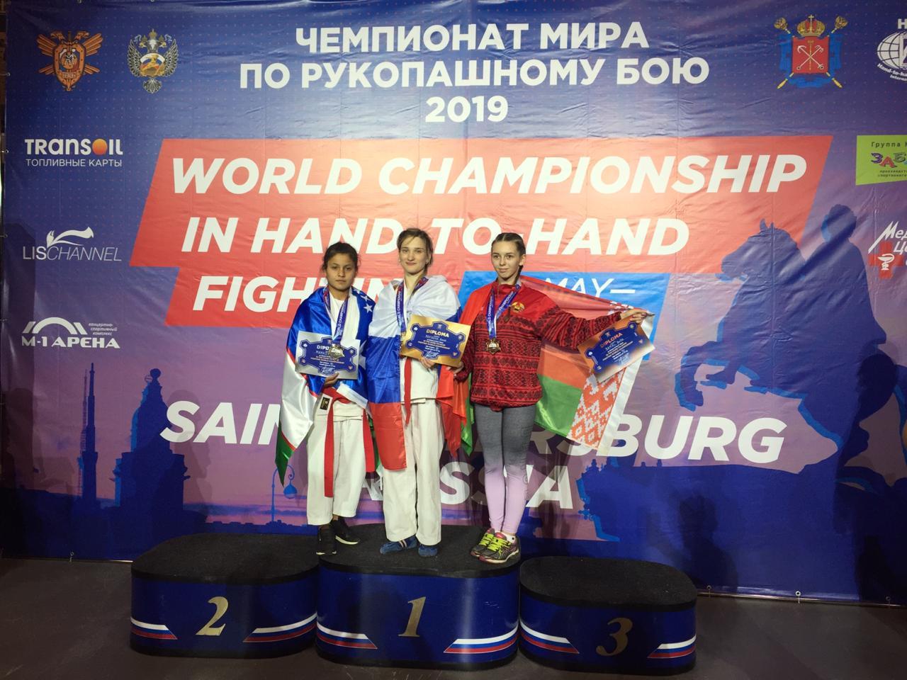 Спортсменка из Новочеркасска стала чемпионкой мира по рукопашному бою