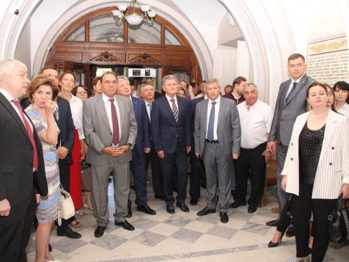 Новочеркасск посетила делегация Счетной палаты Российской Федерации