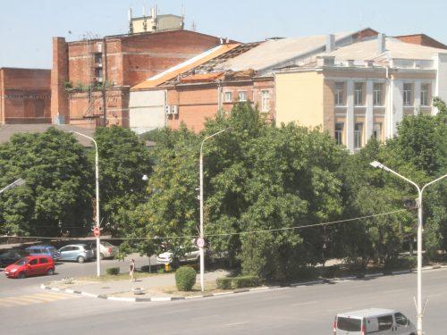 Начался ремонт кровли Донского театра драмы и комедии