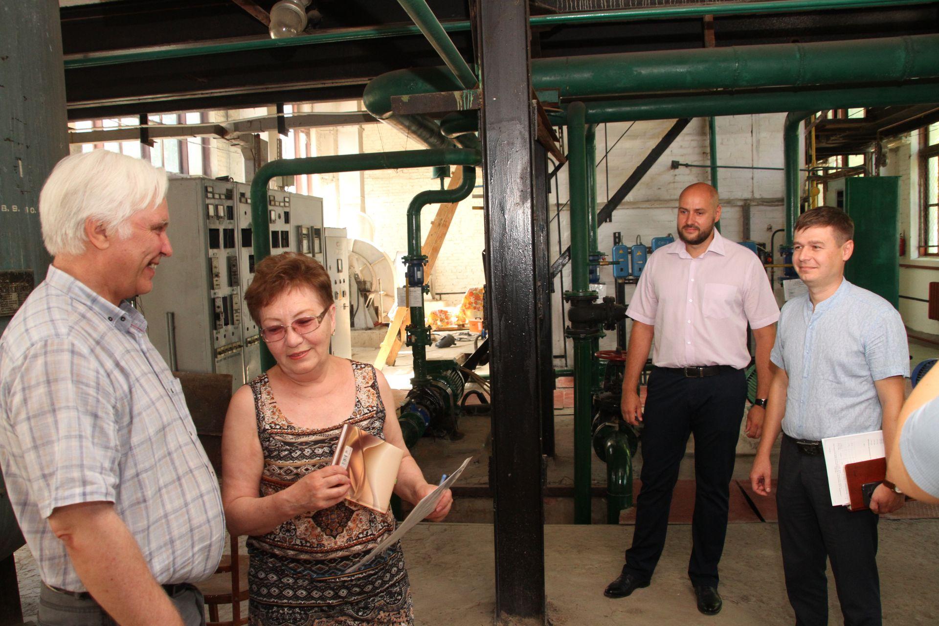 Новочеркасский штаб по подготовке к зиме оценил ремонт одной из котельных